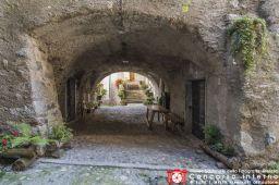 Fogazzi Francesco-Portico a Bagolino